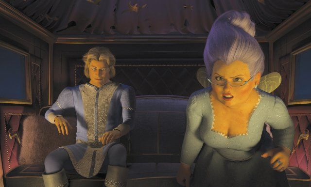Fairy Godmother And Charming Shrek Princess Fiona Shrek Prince