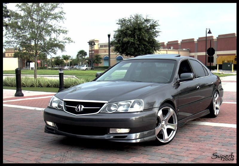 Custom Acura With Wheels Tl S 2002 Should I Blackout My Roof Am