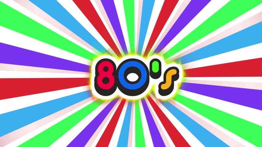 Old School 80s Vintage Motion Stock Footage Video (100