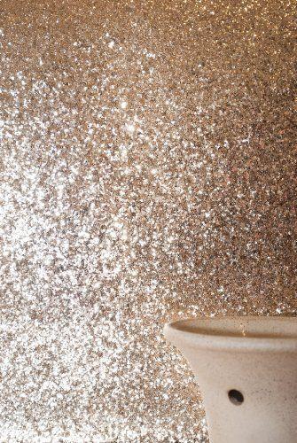 Glitter Wallpaper (Pale Gold) price per metre , http