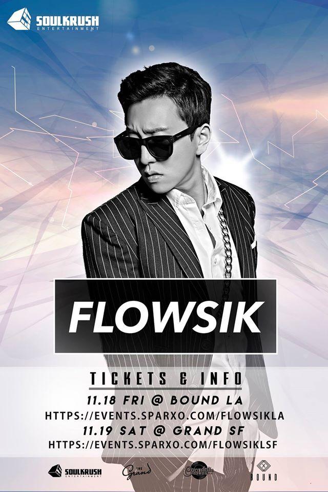 SMTM5' rapper Flowsik to light up LA & SF with unforgettable