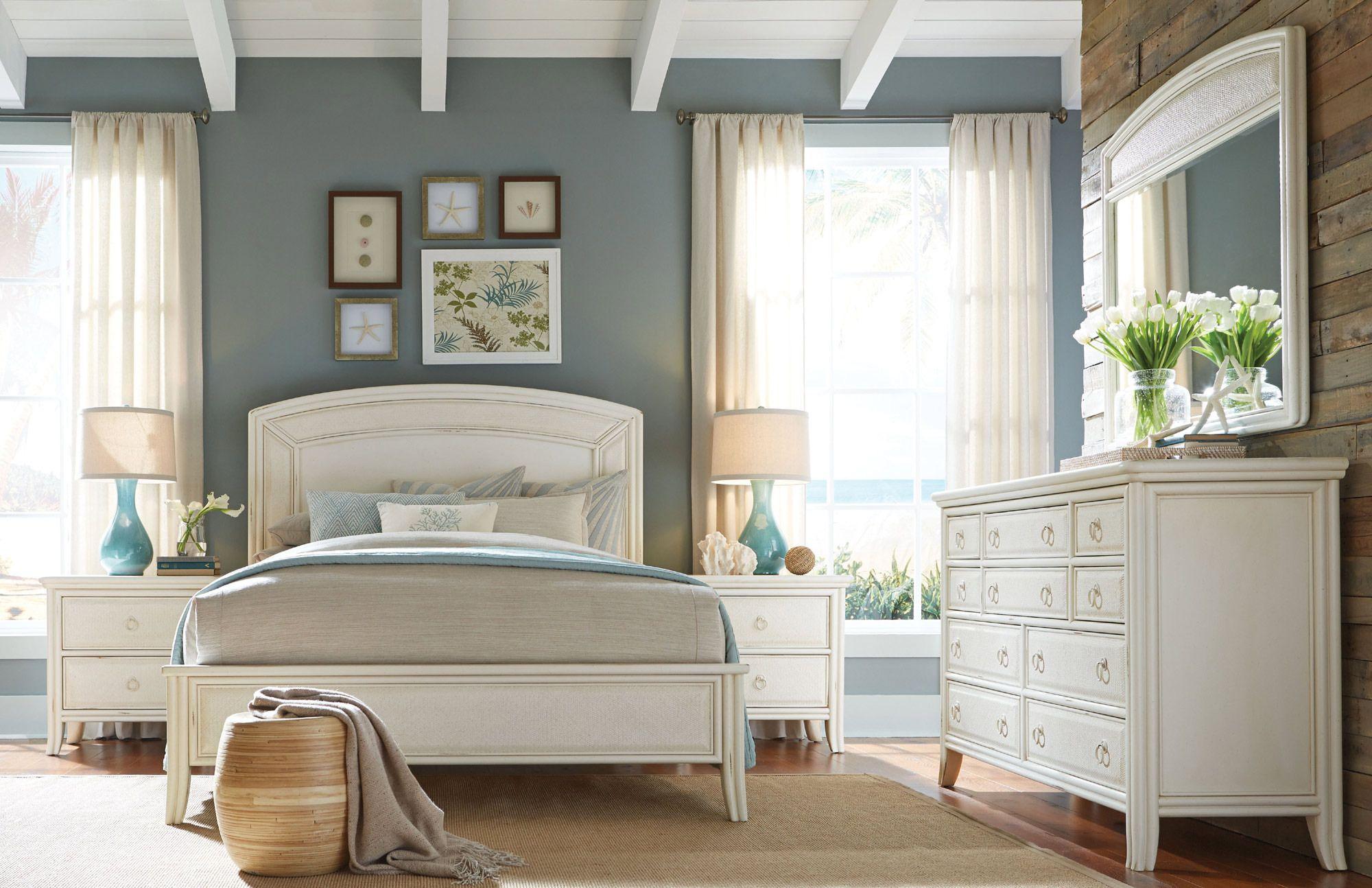 Siesta Sands Low Profile Bedroom Set American Drew