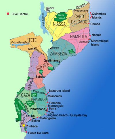 map of mozambique and south africa Map Of Mozambique Look South For Banhine Park Mocambique Viagem map of mozambique and south africa