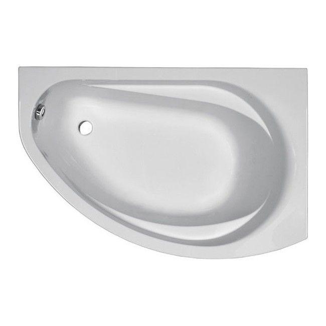 Wanna Akrylowa Asymetryczna Kolo Supero 145 X 85 Cm Prawa Bathtub Bathroom