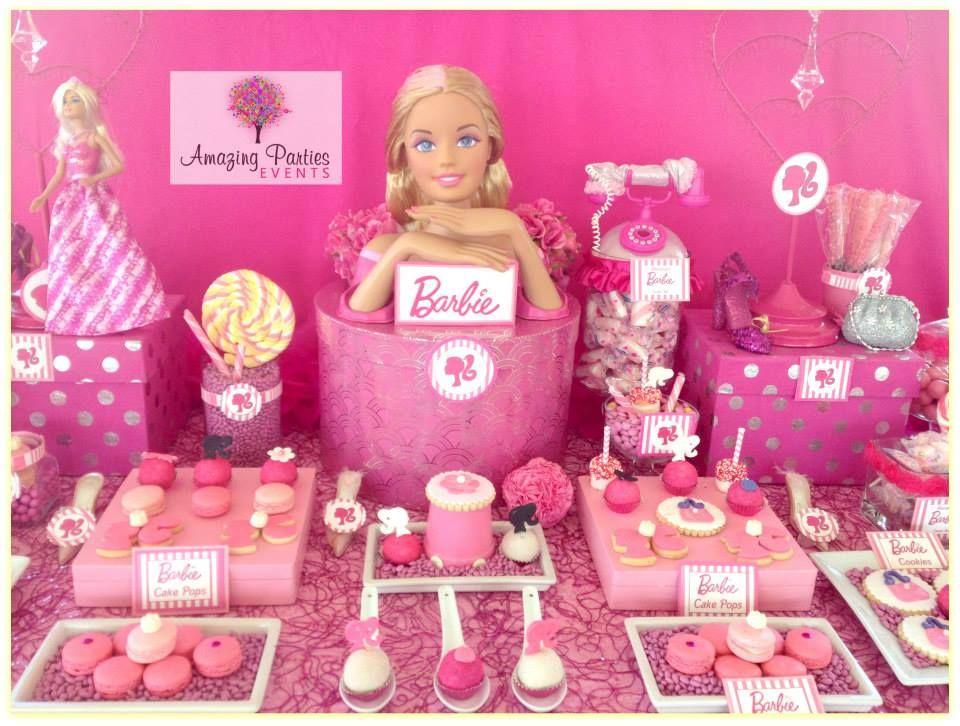 ... barbie party barbie birthday party 4th birthday birthday party ideas