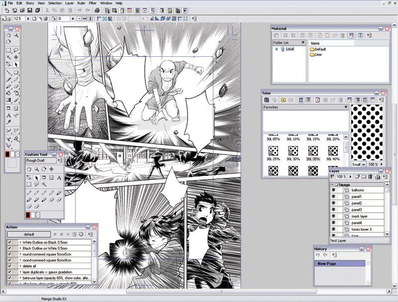 Manga Studio For Facebook