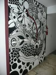 zentangle mural - Google Search