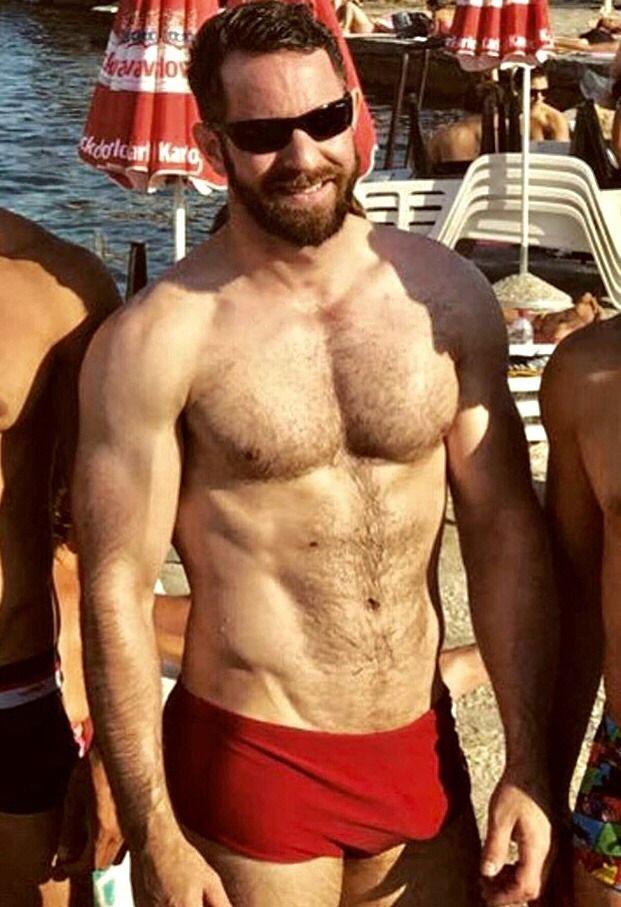 Hot Hairy Muscular Men
