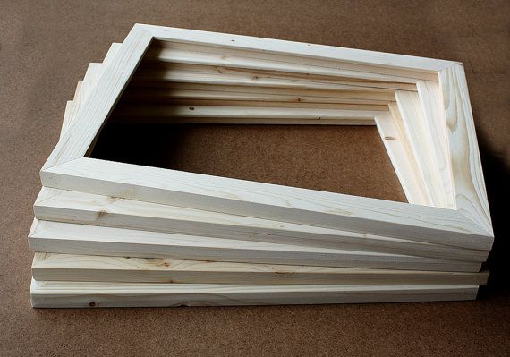 5 11x14 Unfinished Wood Frames Set Of 5 Wood Frames Wholesale