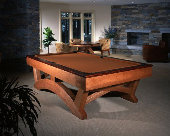 Arch Pool Table By Hatch Studio Pool Table Billiards Home