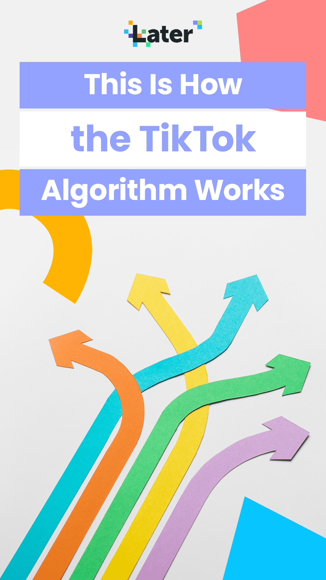 This Is How The Tiktok Algorithm Works Later Blog Algorithm Trending Songs Best Time To Post