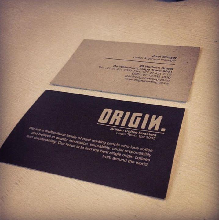 Origin Coffee #businesscards #deep #design #cards | Business Cards ...