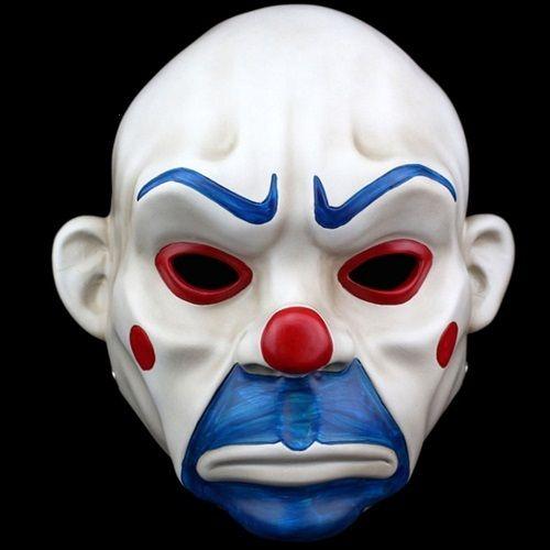 UK BATMAN JOKER BANK ROBBER DARK KNIGHT MOVIE MASK HALLOWEEN FANCY DRESS COSTUME