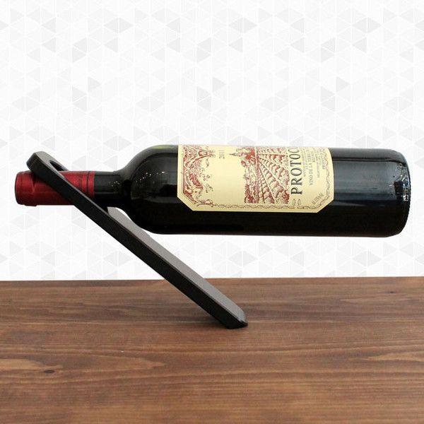 Oblique Wine Holder $45