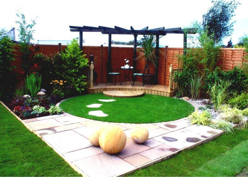 1 Small Garden Ideas Desain Taman Taman Tata Letak