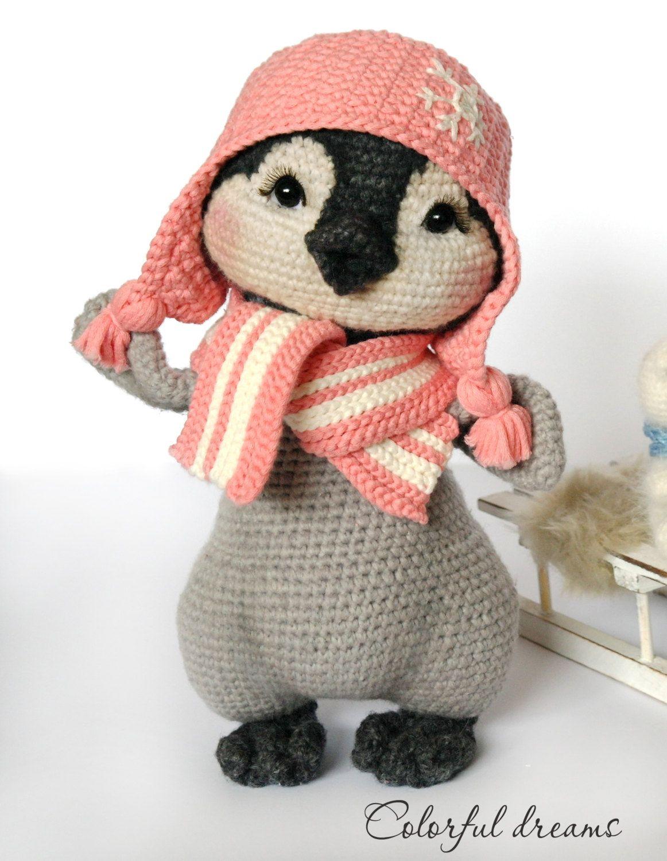 Crochet pattern penguin girl lina by hmcolorfuldreams on etsy crochet pattern penguin girl lina by hmcolorfuldreams on etsy bankloansurffo Images