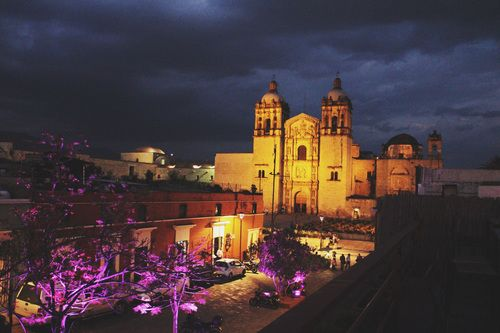 Santo Domingo De Noche Desde La Terraza De Casa Crespo