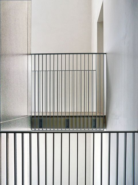 A Whiter Shade Tadao Ando Bar And Staircases