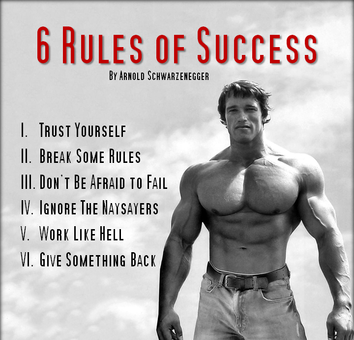 famous and inspiring arnold schwarzenegger quotes