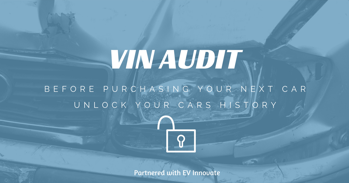 Before Purchasing Your Next Vehicle Find All The History From The