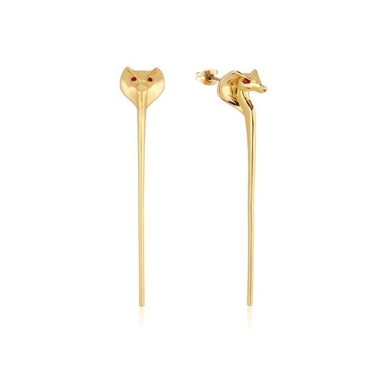 79307e8faaa6b Disney Aladdin Jafar Snake Staff Earrings in 2019 | Jewelry | Gold ...