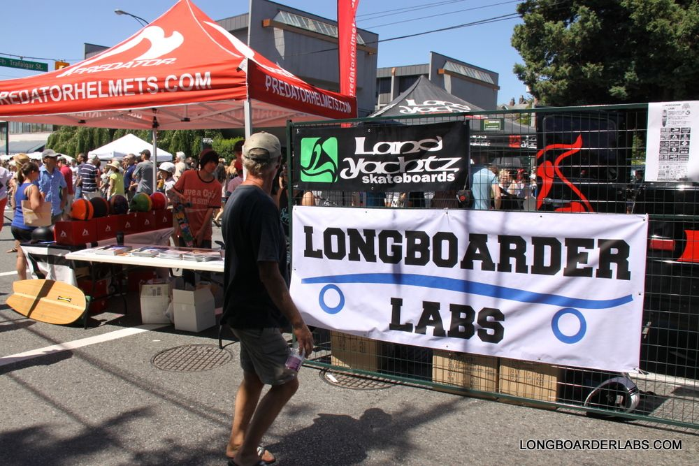 Longboader Labs, Landyachtz and Predator Helmets, at the Khatsahlano Jam on BOARDER LABS and CalStreets Skateshop TWO Great shops in ONE  http://cdn.longboarderlabs.netdna-cdn.com/wp-content/uploads/2013/07/IMG_0514.jpg