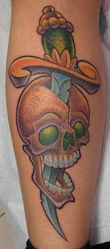 Skull and Dagger by Jime Litwalk