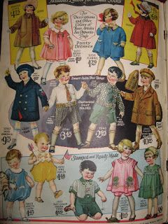 BLURT Blogger: A New Obsession: 1920's Children's & Babies Clothing