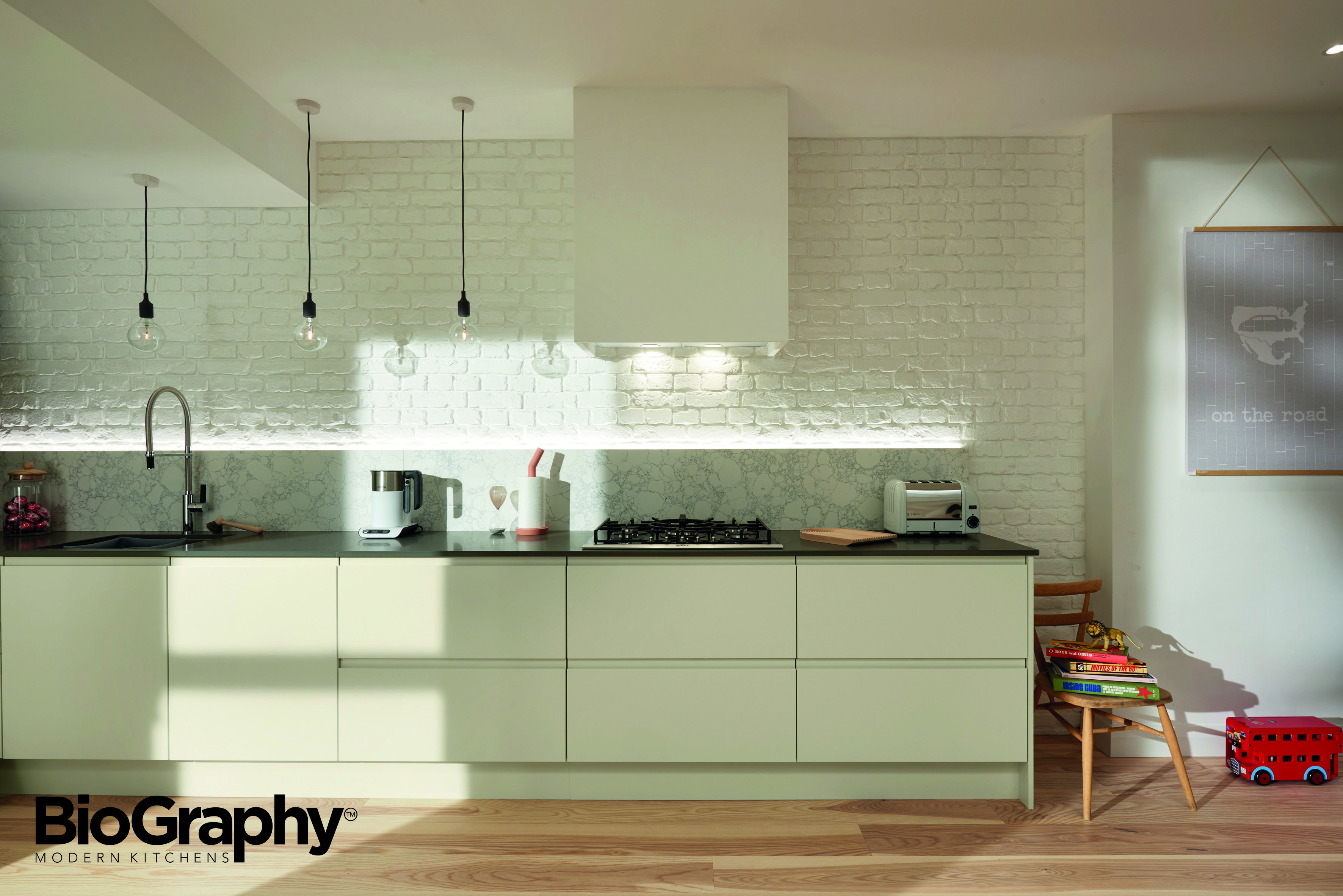 BioGraphy Modern Kitchen Design Style  Space Efficient Relaxed - Fitted kitchen design ideas