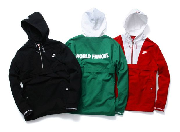 Supreme x Nike SB World Famous Half Zip Pullover Spring