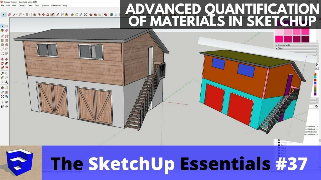 Advanced Material Quantification in SketchUp - The SketchUp