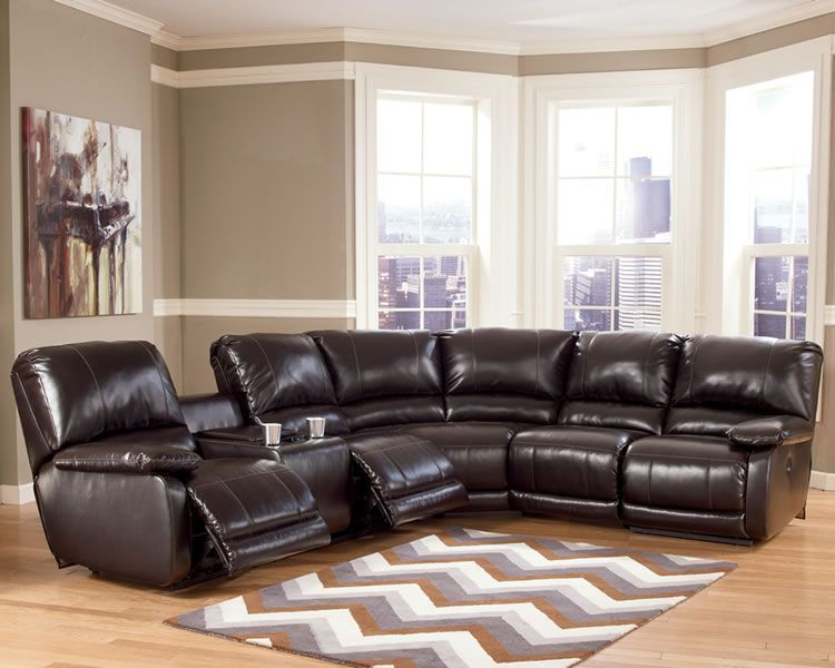 Reclining sectional sofa for your living room  S3NET \u2013 Sectional