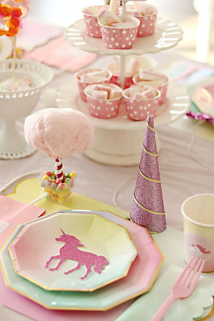 Unicorn Birthday Party | Pinterest | Birthday party tables, Unicorn ...