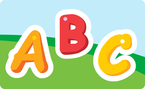 Laugh & Learn™ Alphabet Game shows letter and says letter