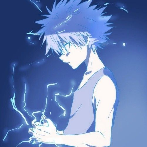 Anime Characters Use Lightning : Killua zoldyck lightning random anime pics pinterest