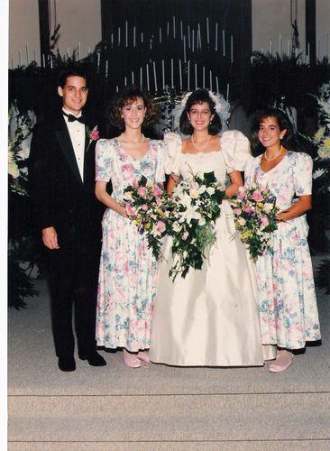 Laura Ashley Bridesmaid Dresses 1989 Bridal Style Wedding