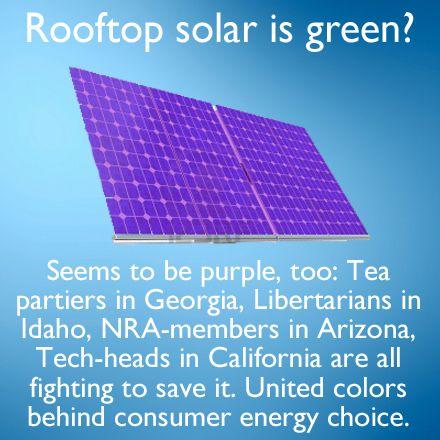 The People Have Spoken In Idaho Louisiana Georgia And Are Speaking In Arizona California They Want Their Energy Choice Georgi Solar Energy Solar Energy
