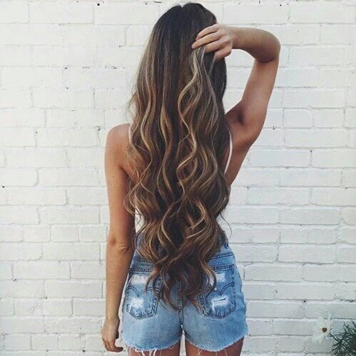Image de hair, girl, and long hair