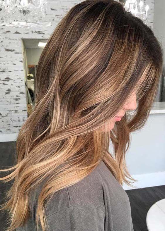 13 Wunderschöne Herbst-Haarfarben zum Ausprobieren: Die besten Haarfarbentrends für den Herbst #fallhaircolors