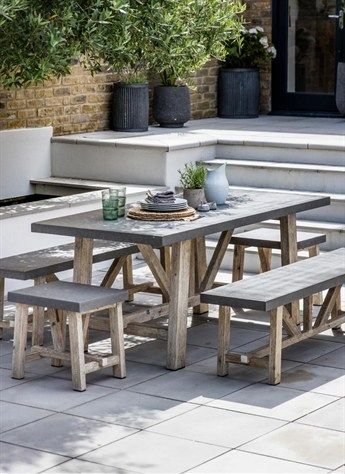 Terrific Chilson Table Small Outdoor Patios Outdoor Dining Creativecarmelina Interior Chair Design Creativecarmelinacom