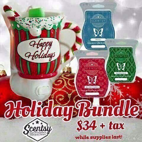 #Holiday #Bundle ~ #Scentsy