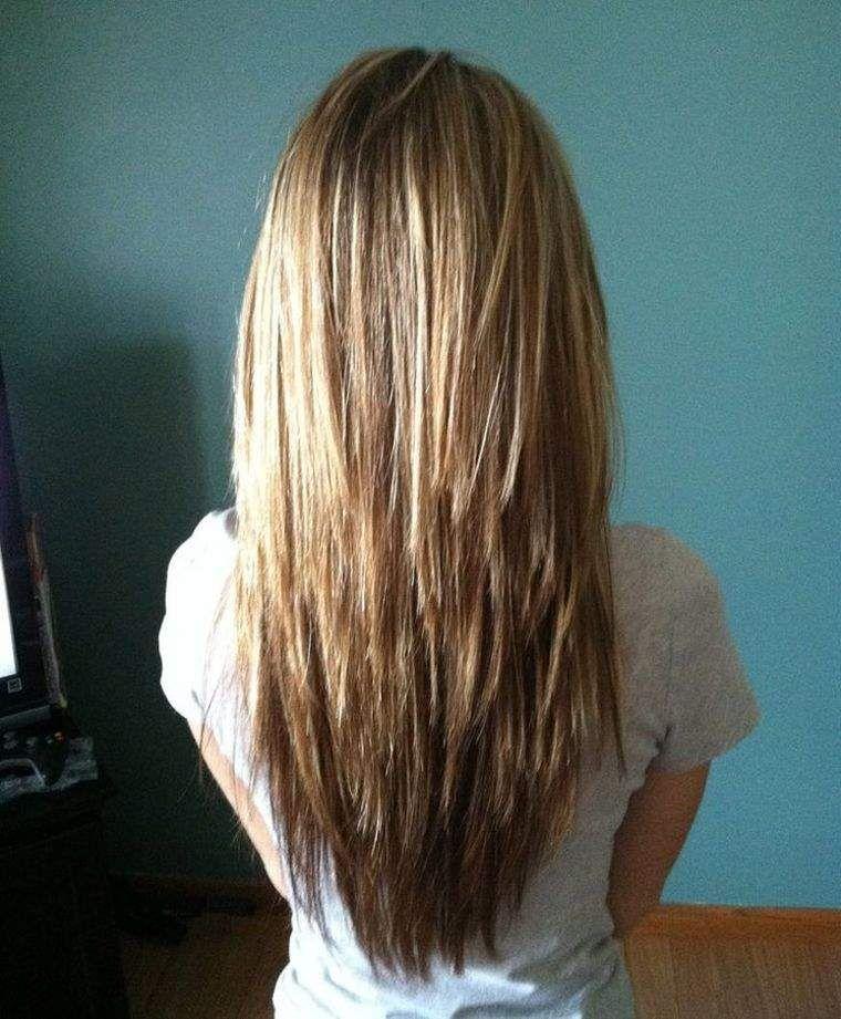 coupe femme mi long long,degrade,cheveux,lisses