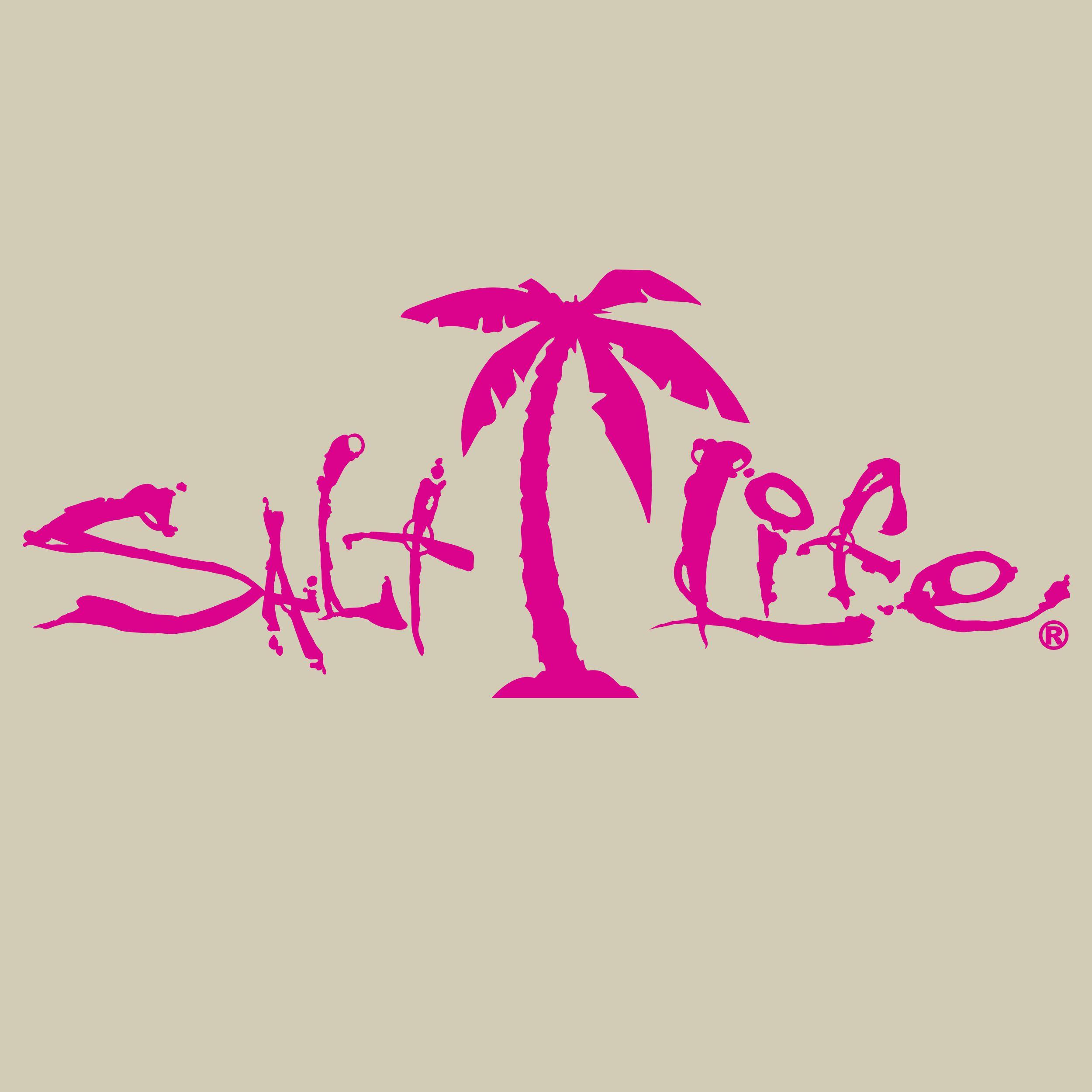 Salt Life Signature Decal Salt Life Decals Tree Decals Salt Life Quotes [ 2500 x 2500 Pixel ]