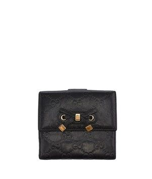 Gucci Black Guccissima Leather Bi Fold Wallet (30391). Get the lowest price on Gucci Black Guccissima Leather Bi Fold Wallet (30391) and other fabulous designer clothing and accessories! Shop Tradesy now