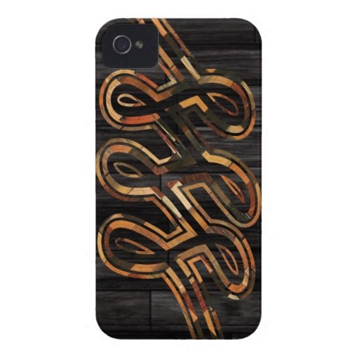 BLACK INFINITY LOOP PROTECTIVE I-PHONE CASE iPhone 4 Case-Mate CASE