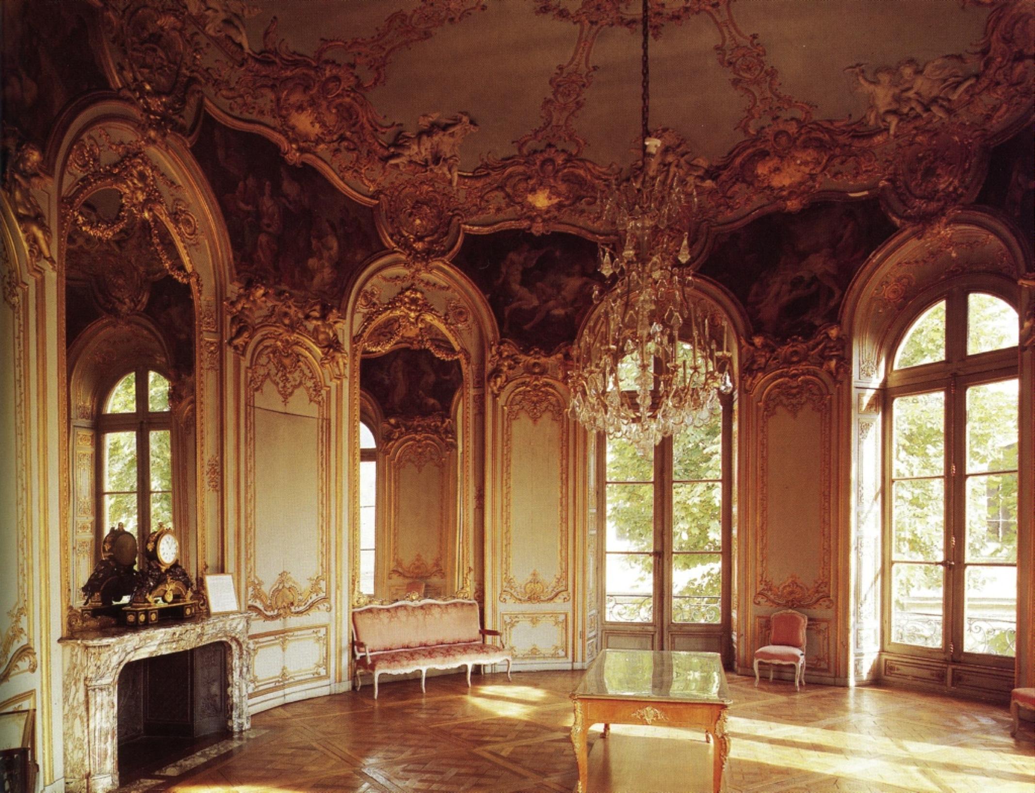 Germain boffrand salon de la princesse hotel de soubise paris