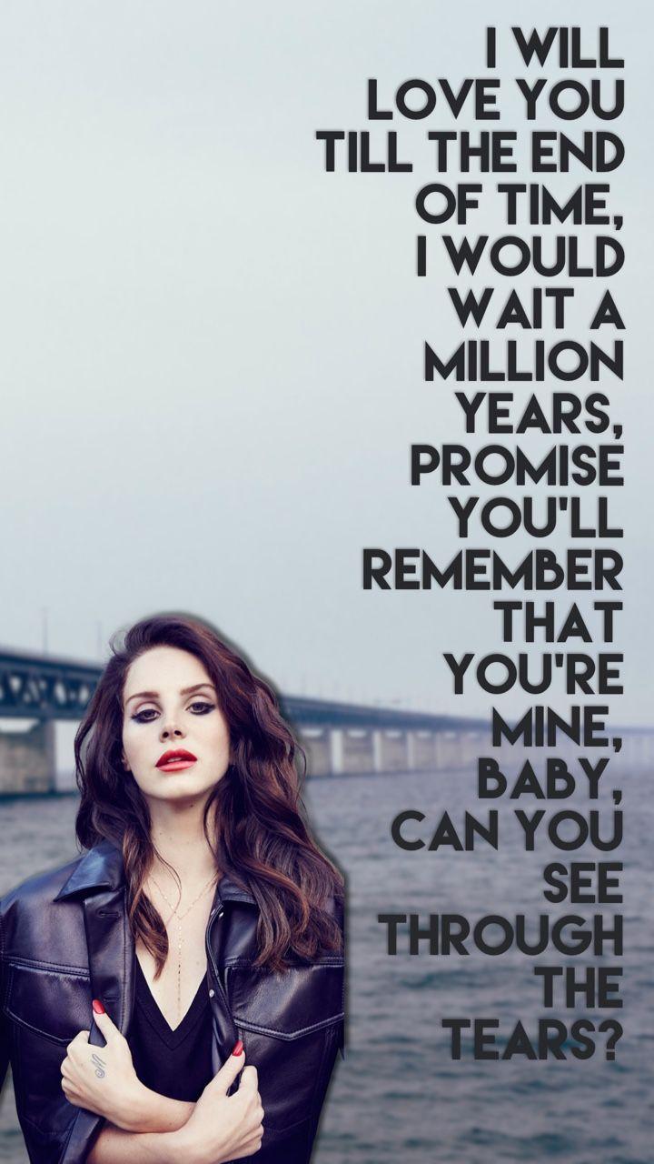 Lana Dey Rey Blue Jeans IPhone Wallpaper Please