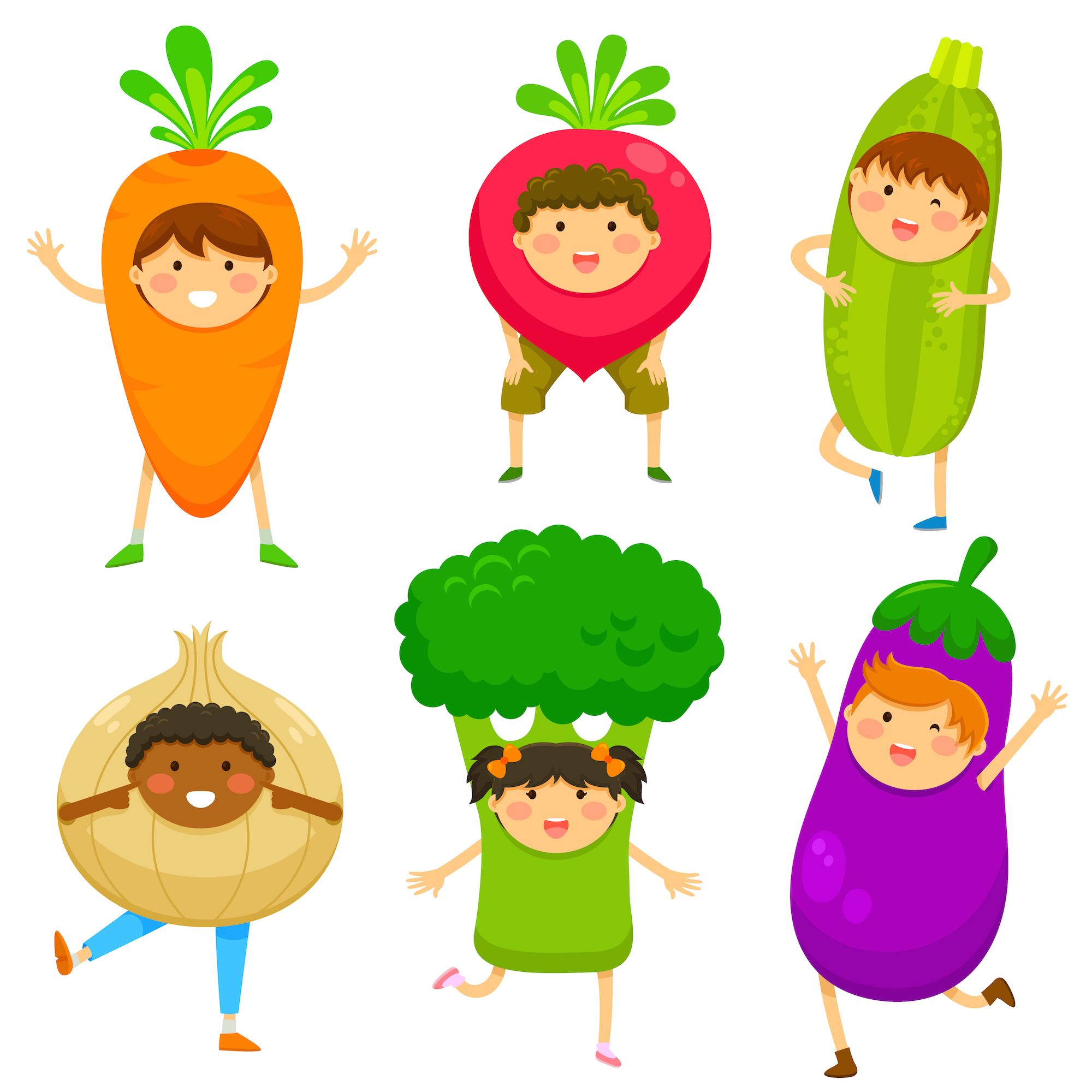 Guess Who I Am? Ask kids to think of a vegetable or a fruit, but ...