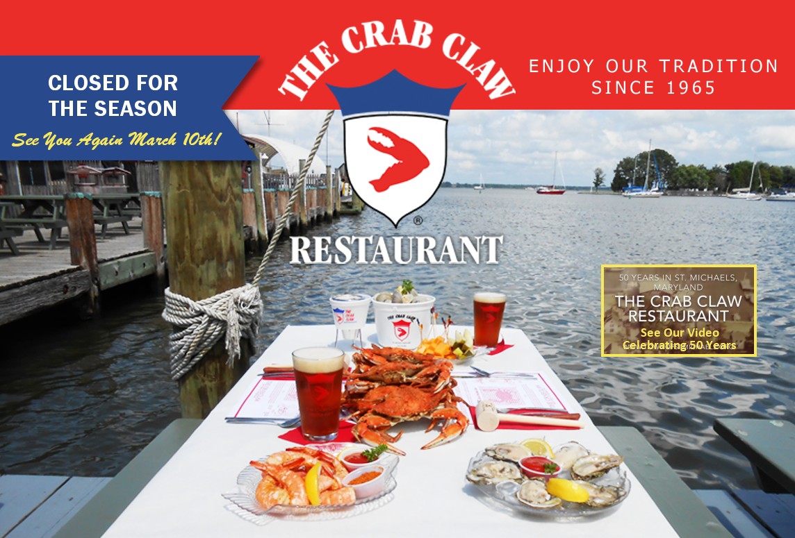 The Crab Claw Restaurant, St Michaels Maryland.  Only 3 stars but famous..