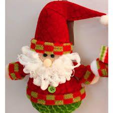 resultado de imagen para muecos de tela de navidad